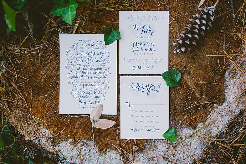 A DIY, Mountainside North Carolina Wedding