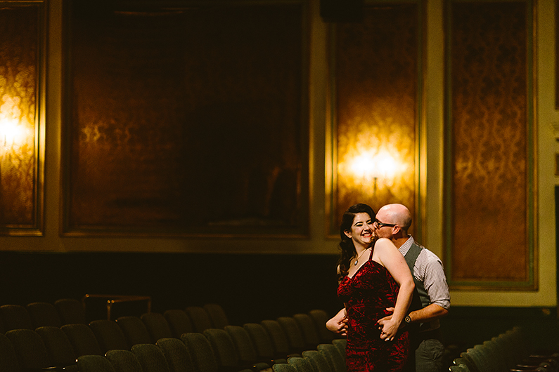 Colonial Theatre Engagement Shoot